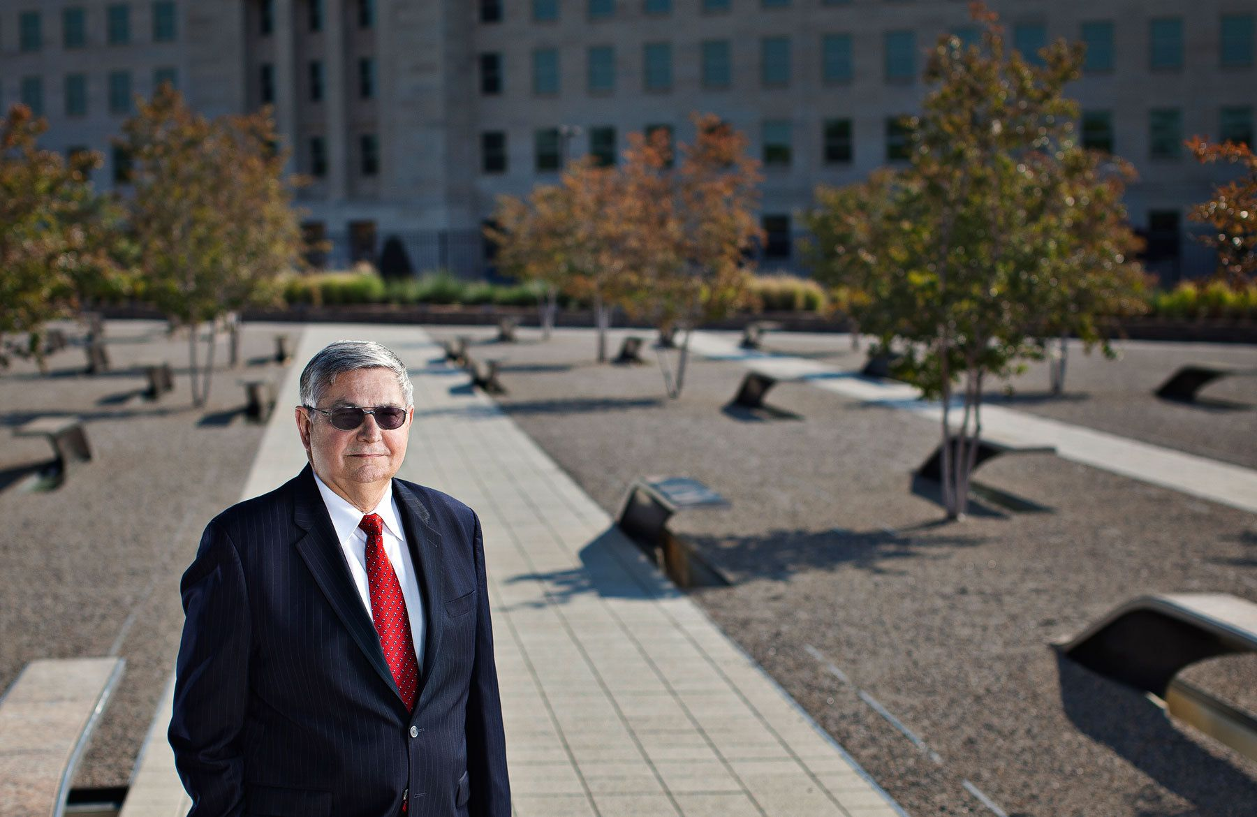 Neal Shelley- Deputy Director- US Army's Information Management Support Center lost many of his close colleagues on 9/11-   Pentagon Memorial-  Arlington, VA