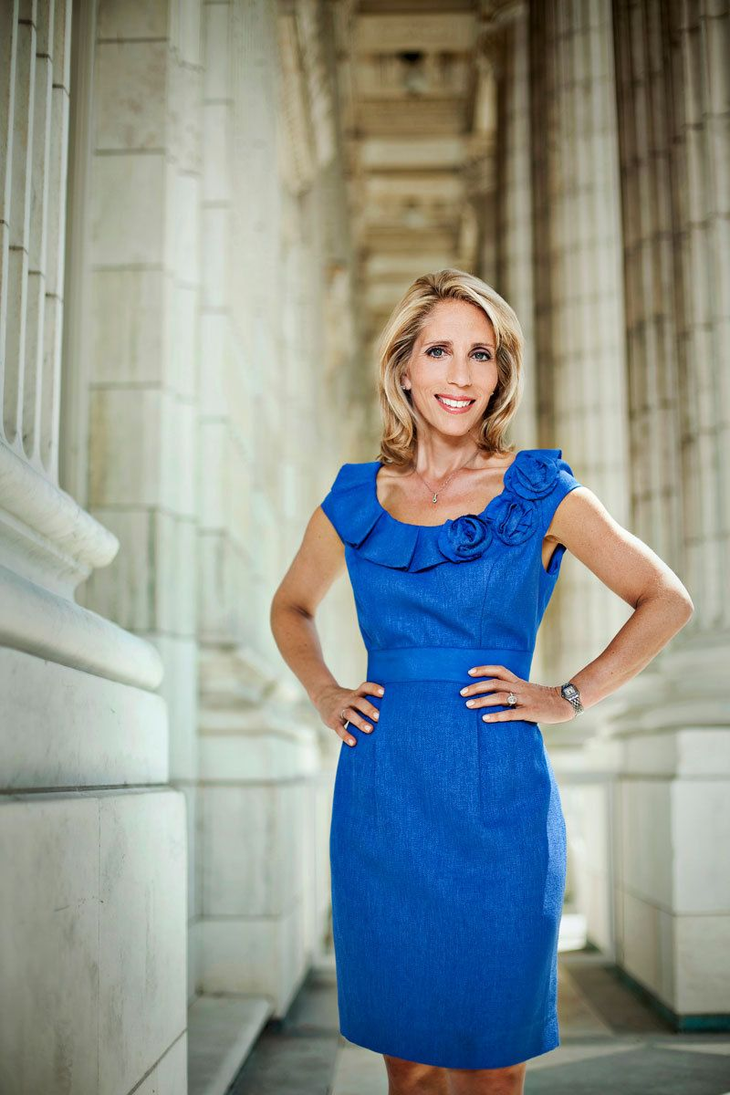 Dana Bash, CNN At the Russell Senate offices-  Washington, DC
