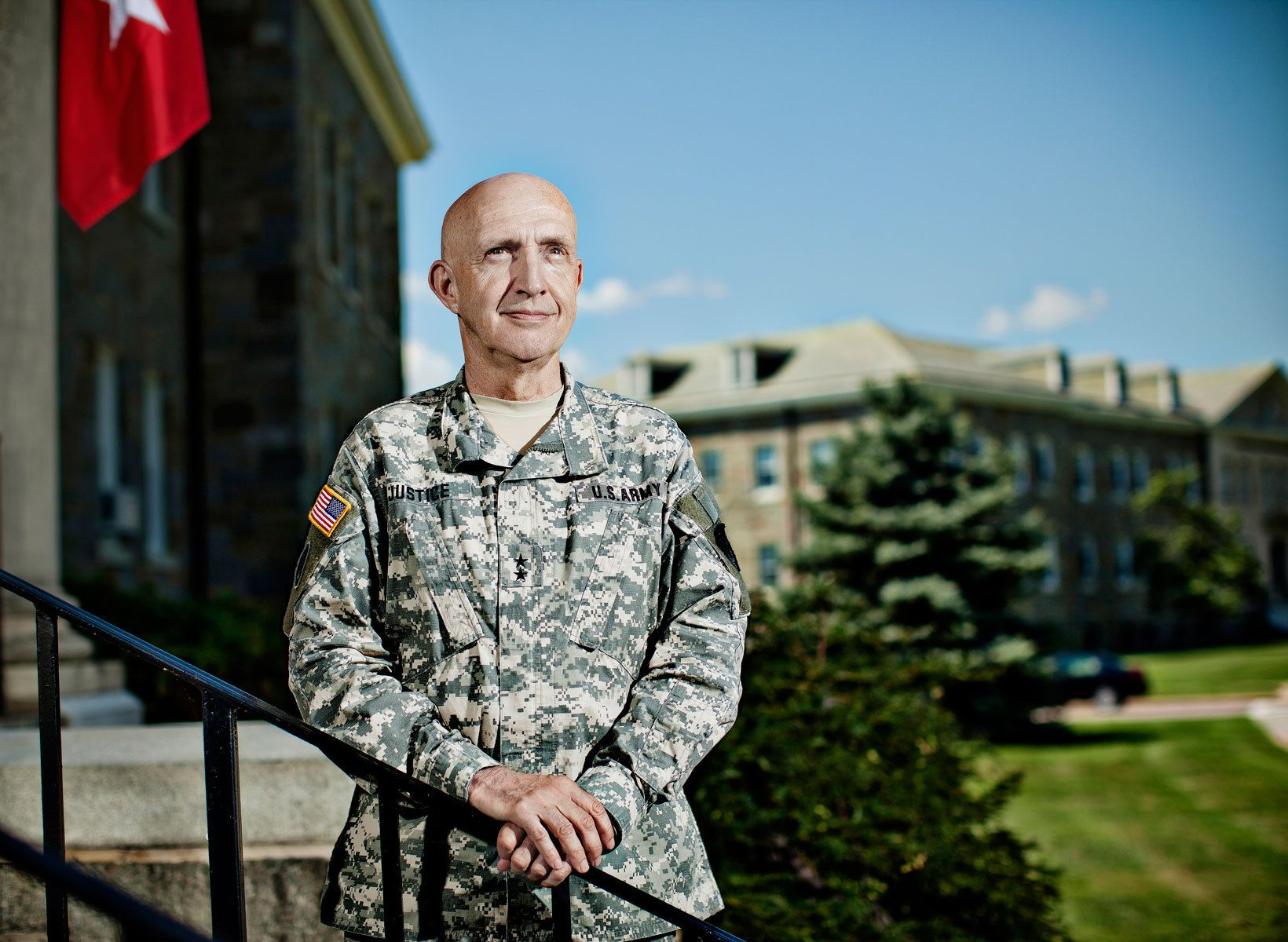 Nick Justice, Commanding General of the Aberdeen Proving Grounds-   Aberdeen, MD