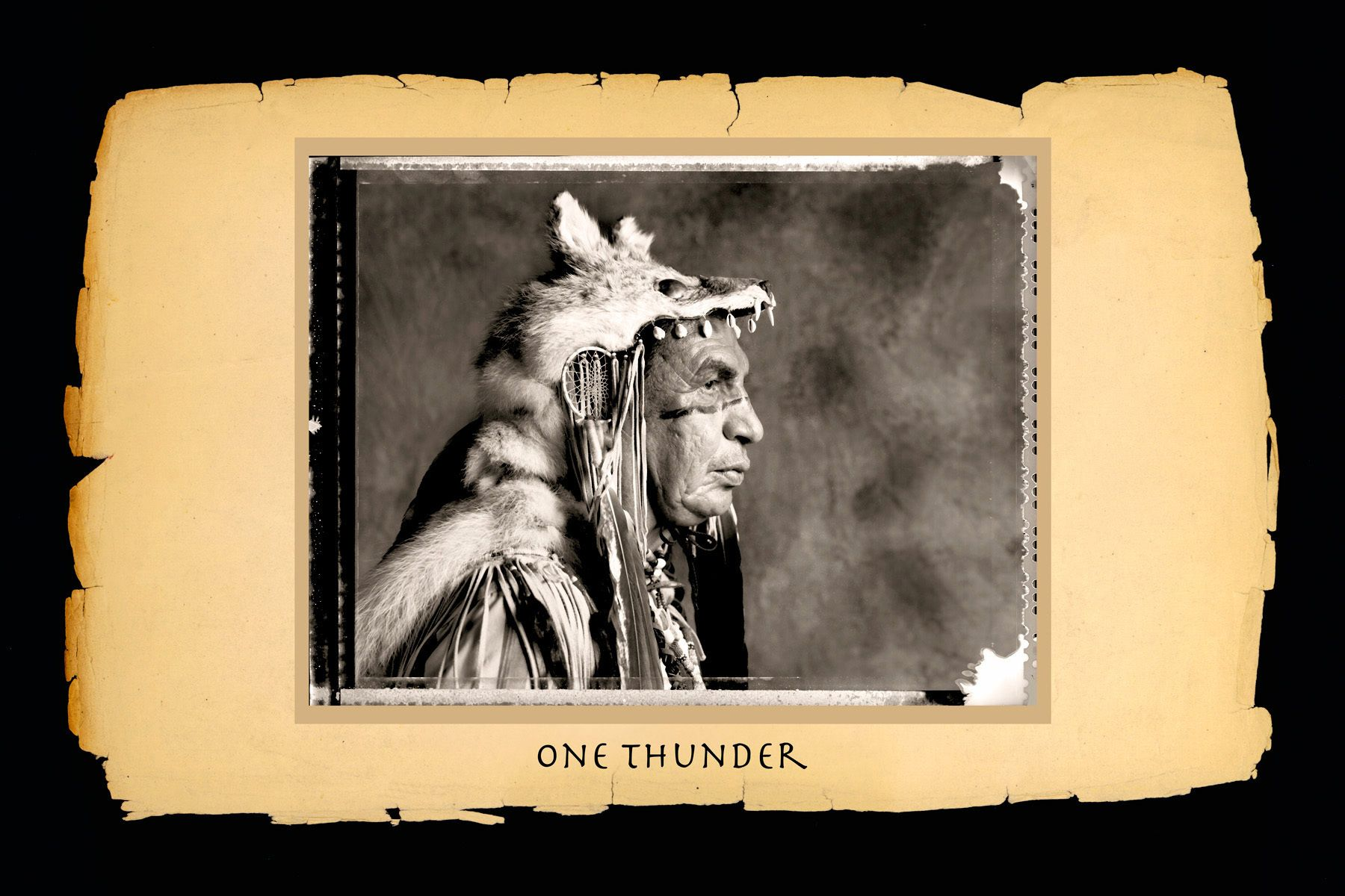 One Thunder,Standing Rock Sioux