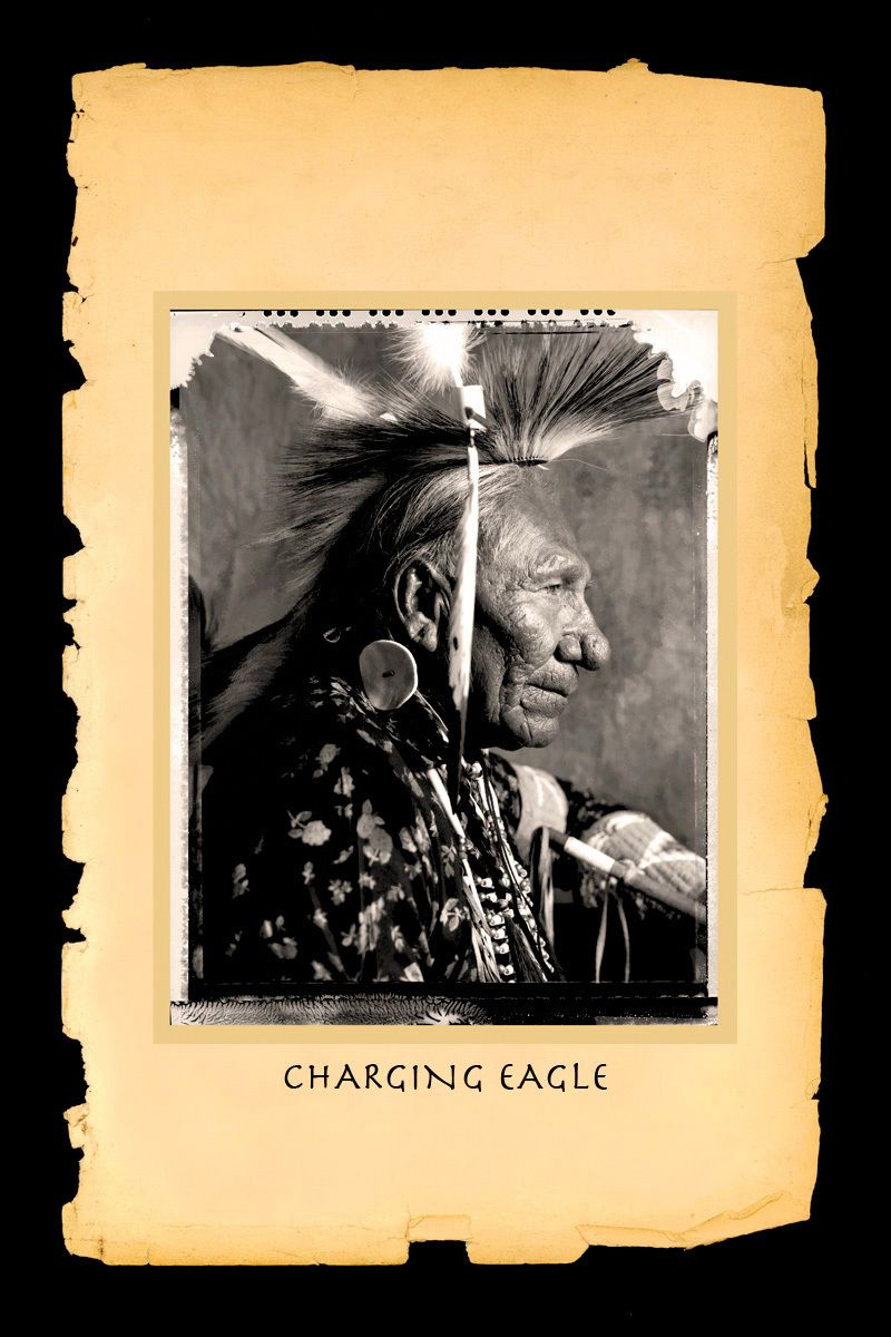 Charging Eagle,Cheyenne River Sioux