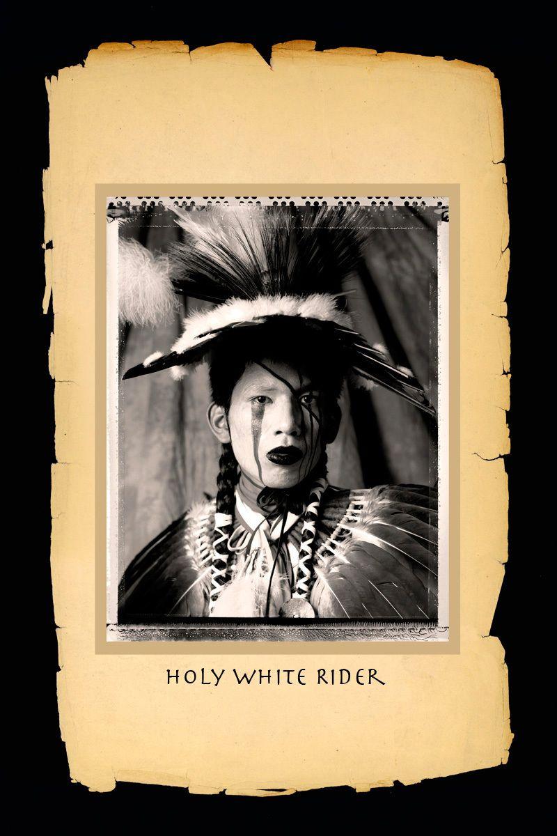 Holy White Rider,Yakama