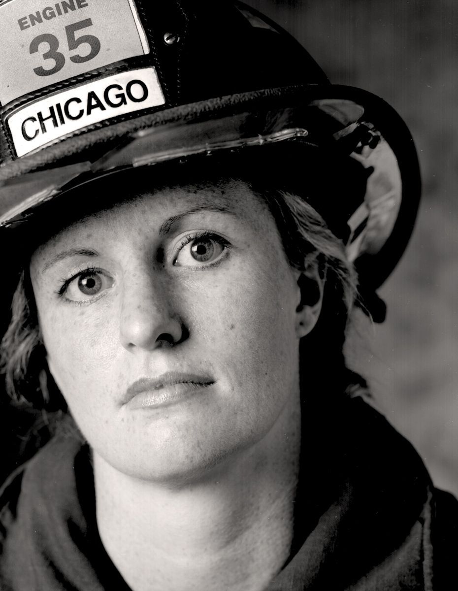 Red 35Chicago Fire Department EMT Barbara Cahill