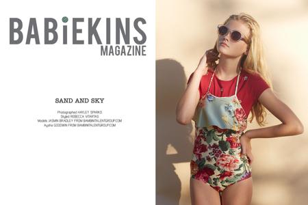 Babiekins Magazine, styled by Rebecca Vatartis, models Bambini Talent Group