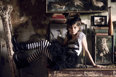 Spirits of the Seven Seas Tutu Du Monde, styled by Renata Ferko, HM Jessica Diez, Models; Bambini Talent group