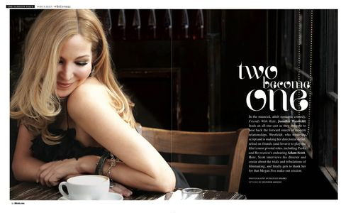 "Jennifer Westfeldt for Black Book Magazine March 2012""Friends With Kids"" writer, director, producer and actor"