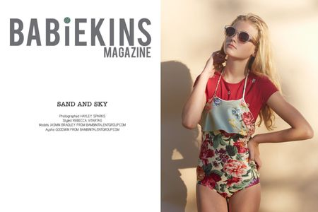 Babiekins Magazine, styled by Rebecca Vatartis, models Bambini Talent Group