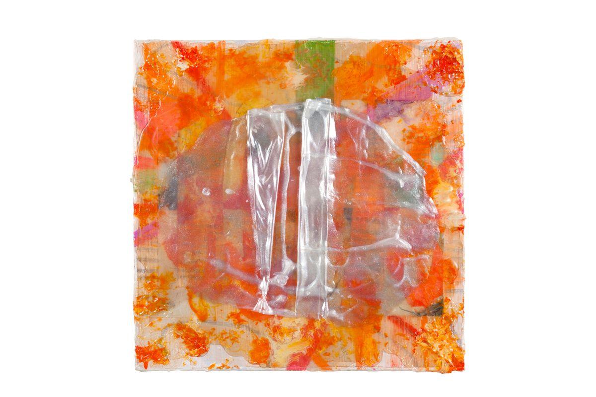 Renewed, Recycled Repurposed Painting