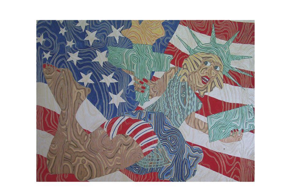 Miss Liberty Blesses America