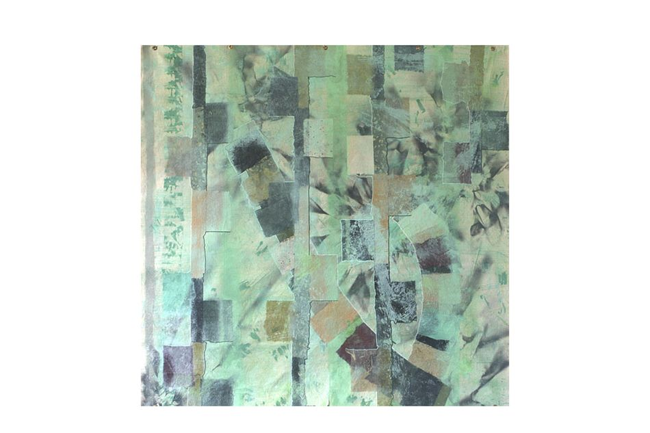 Earthy Abstract Tapestry Artwork