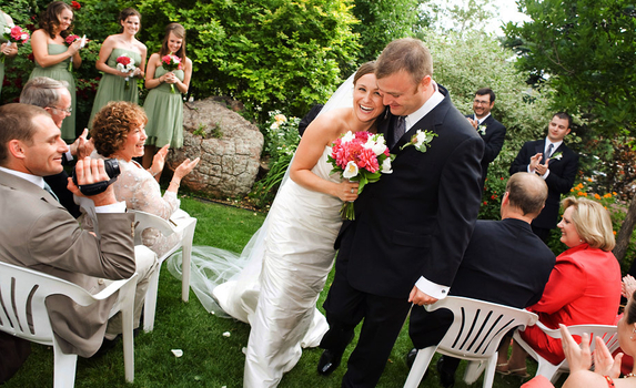 Greenbriar Inn wedding photo by Boulder wedding photographer Marilee Photography