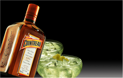 Denver Food Photographer  Cointreau Ad