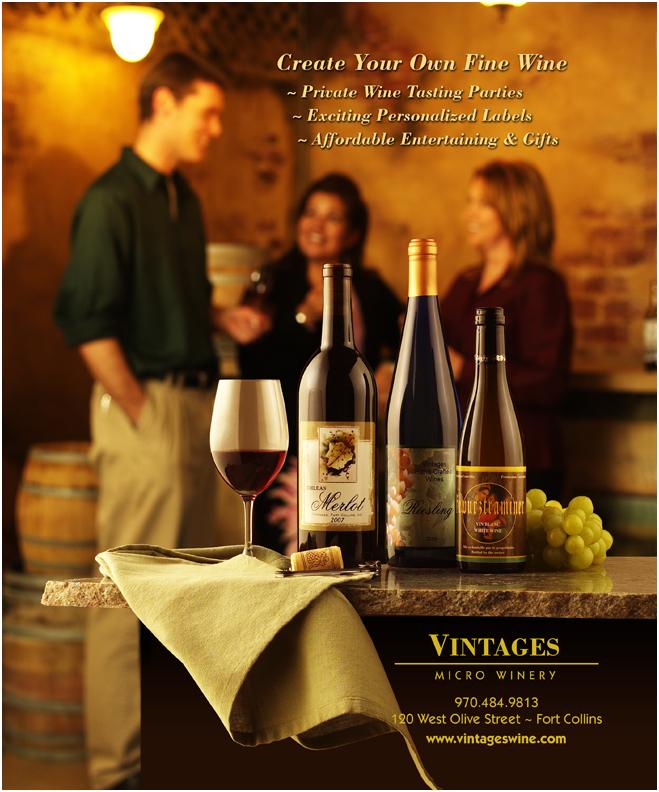 Denver Food Photographer  Vintages Ad