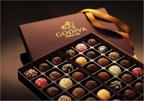Godiva Chocolate Ad