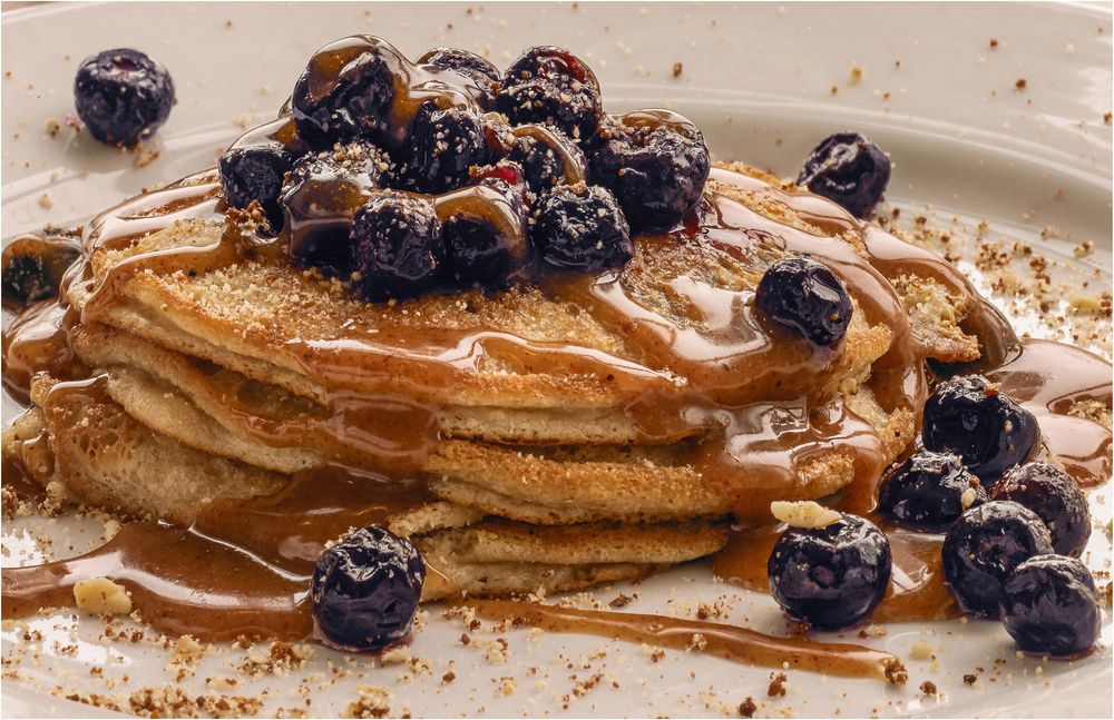 Denver Food Photographer, Denver Commercial PhotographerBlueberry Pancakes