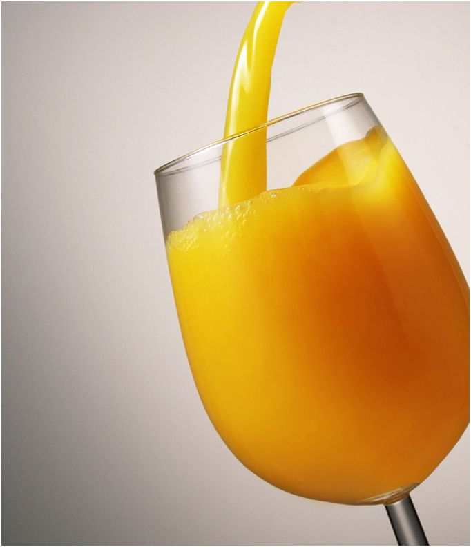 Crowne Plaza Hotels Orange Juice