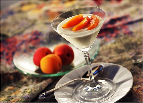 Denver Food Photographer  Peach Desert