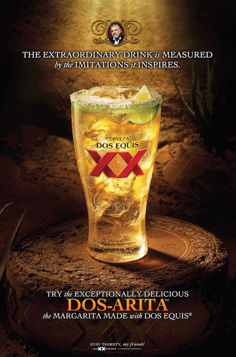Dos Equis, Dos-Arita drink ad