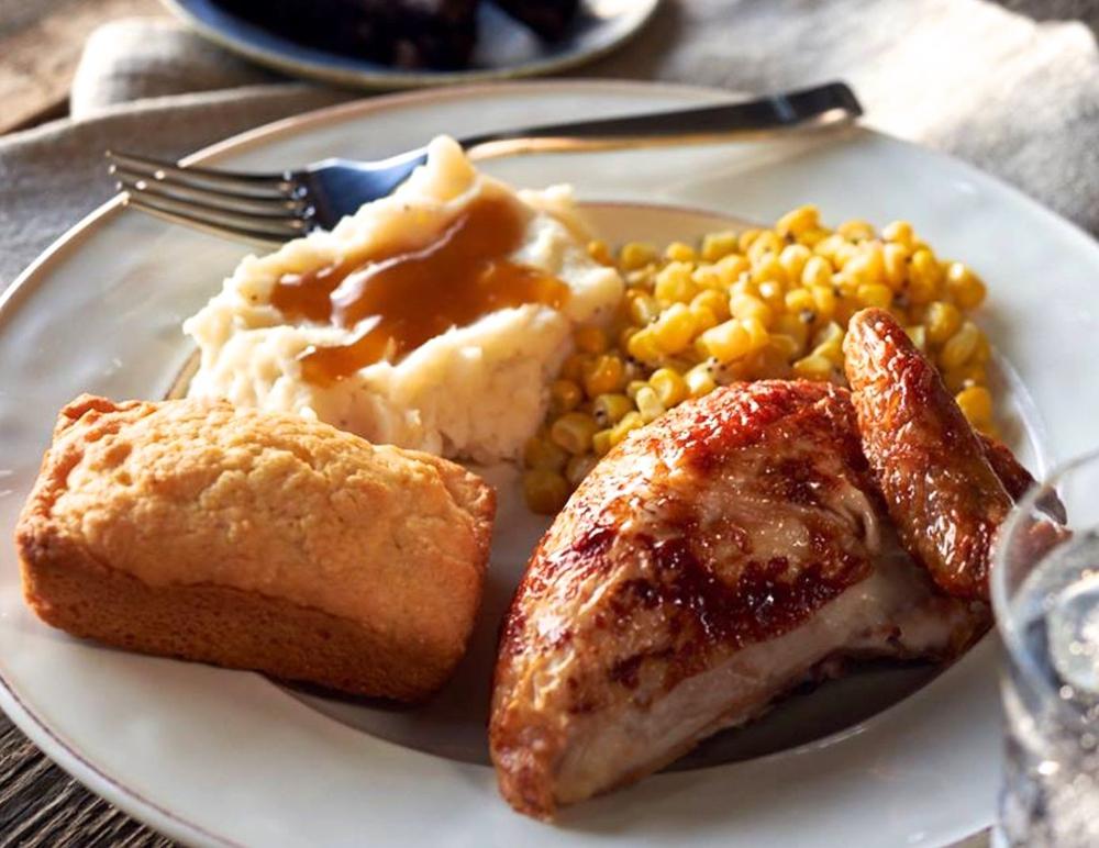 Rotisseried Chicken Meal