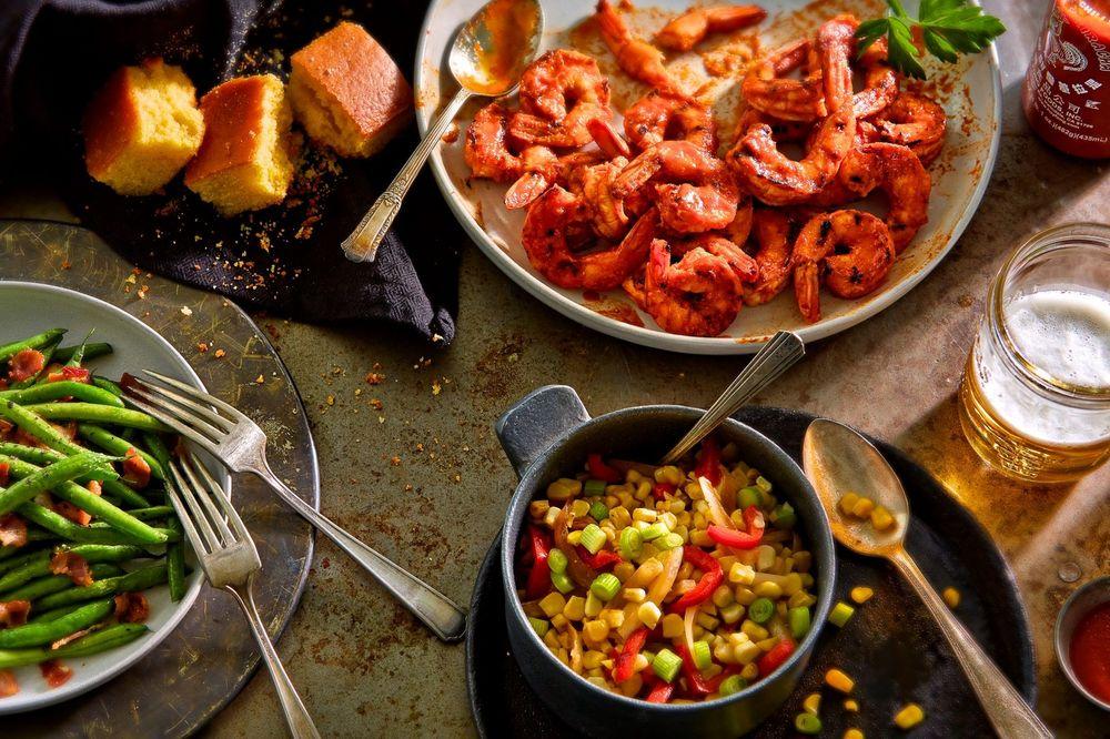 BBQ Shrimp Meal