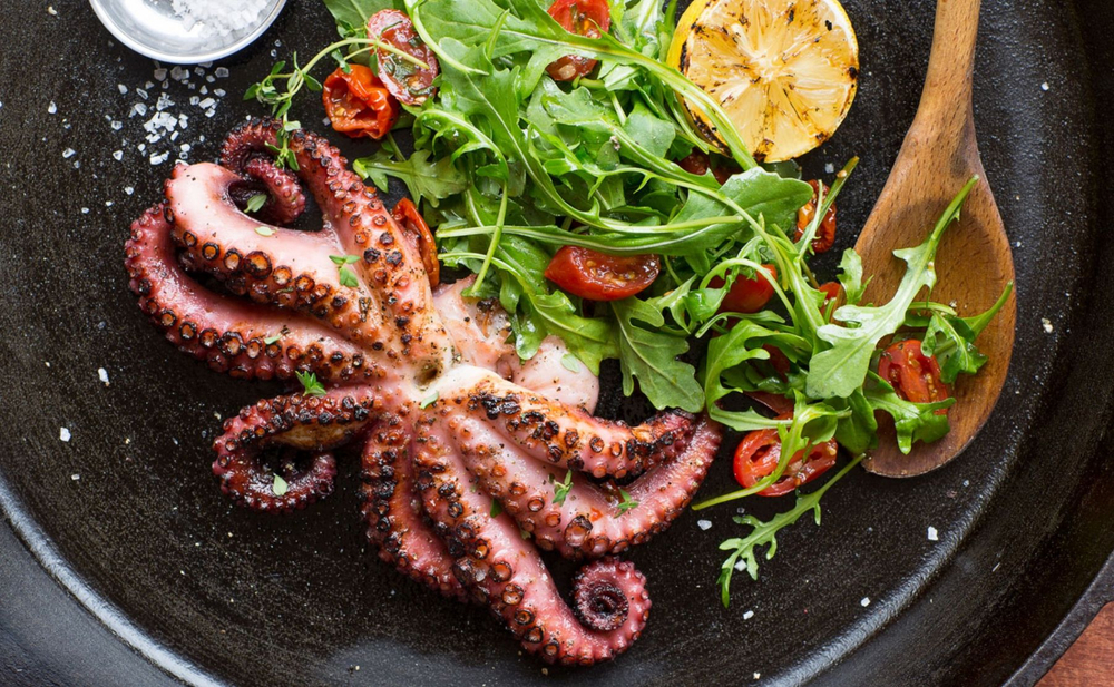 Grill Baby Octopus
