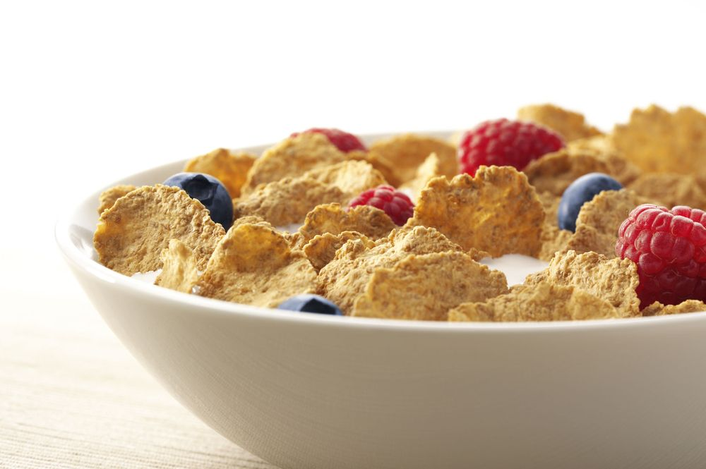 Cereal Bowl with fresh Berries