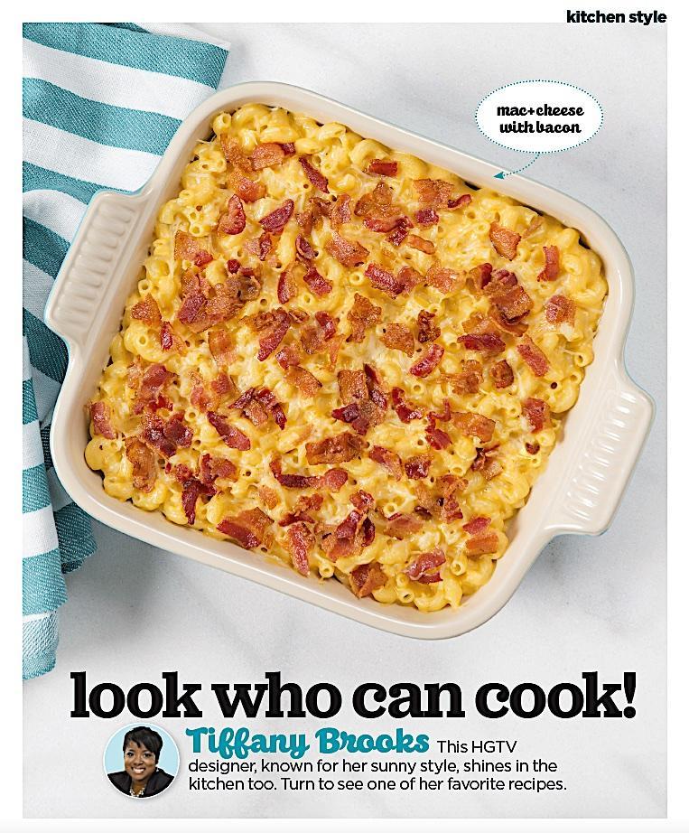 Tiffany Brooks recipes HGTV Magazine