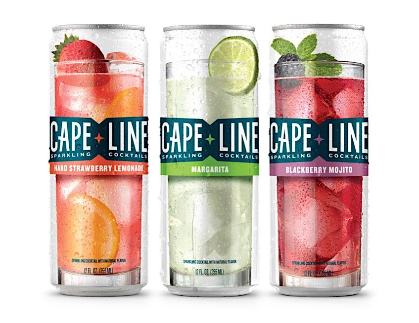 Cape Line packaging, MillerCoors