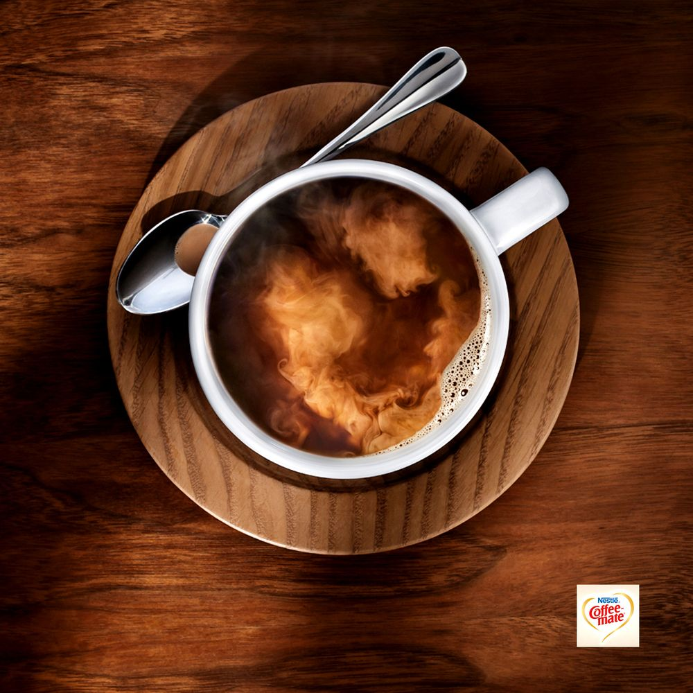 Nestles Coffee Mate print ad