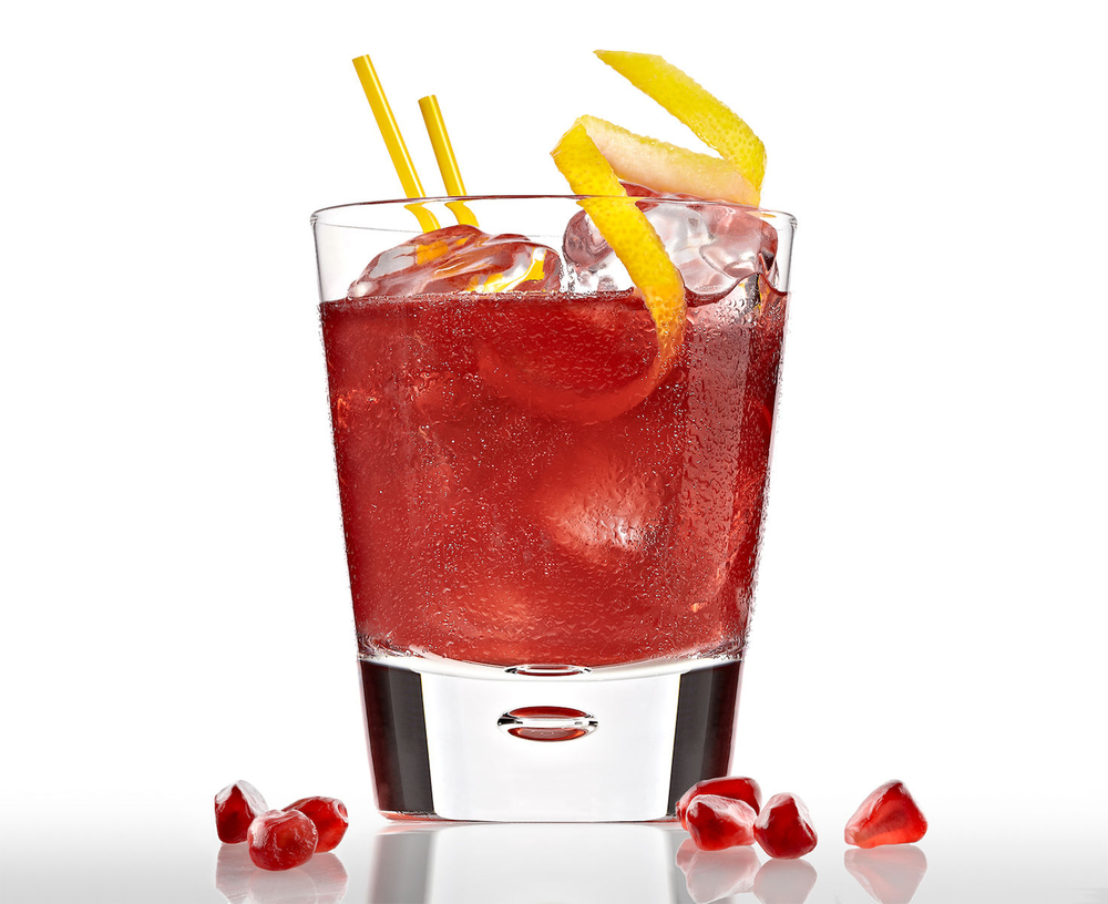 Pomegranate  Gimlet