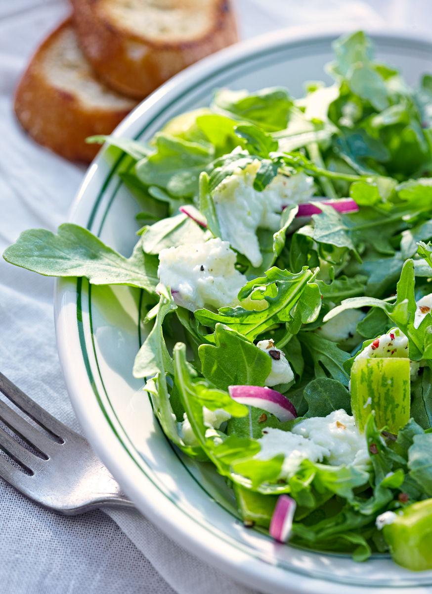 Baby Arugula Salad