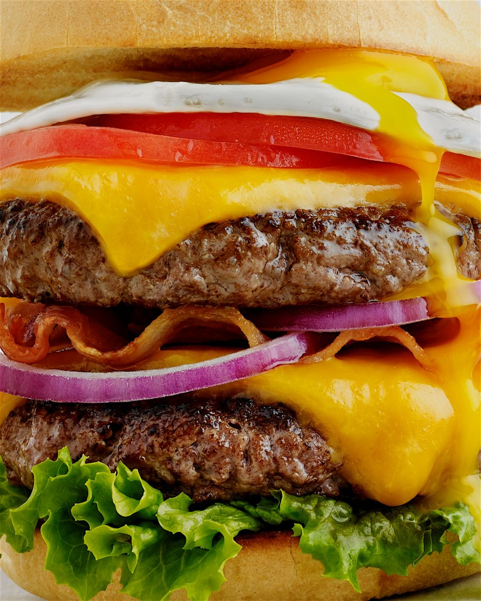 Cheese Burger Double Stack