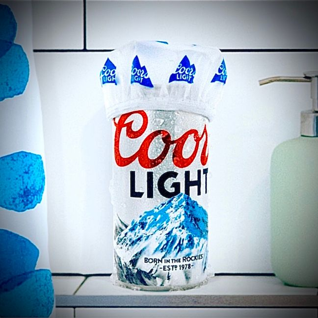 Coors Light, Official Shower Beer