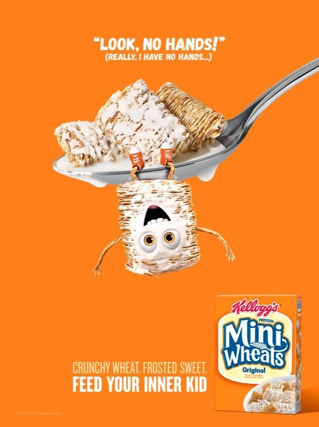 Kellogg's Mini Wheats Ad