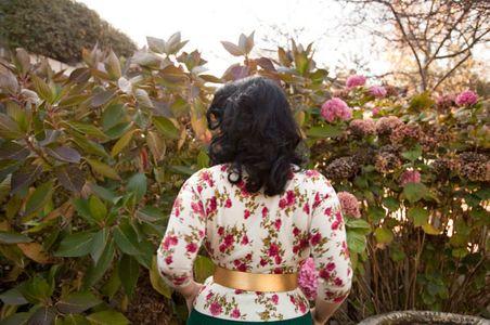 Woman With Hydrangeas