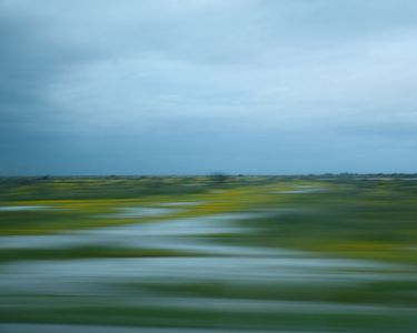 Blurred Landscape (from a moving car), California