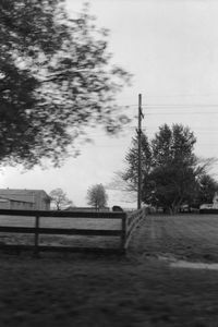 Blurred Landscape (from a moving car), Virginia