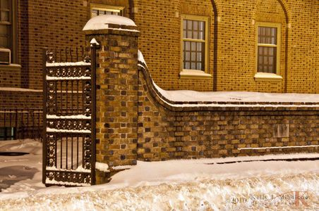 2010 snow at William & Mary College; Williamsburg, Virginia Photographer,Architectural Photography, Commercial Photography, Virginia Wedding Photographer, College, Colonial Williamsburg, Twilight