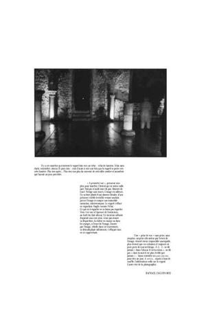 Text written by Raphael Zagury-Orly