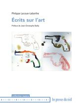 Ecrits sur l'art - Philippe Lacoue-Labarthe, text and photography from Ph(il/ot)o-graphie, Les presses du réel, Museum of Modern and Contemporary Art, Geneva, 2009