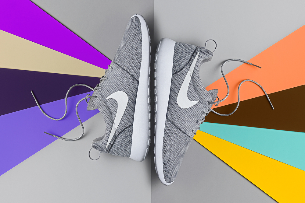 Retouching and Compositing of Nike Shoes