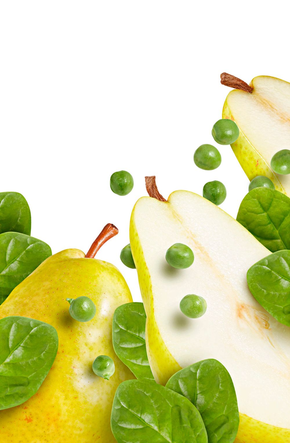 Retouching and Compositing / Pears and Peas