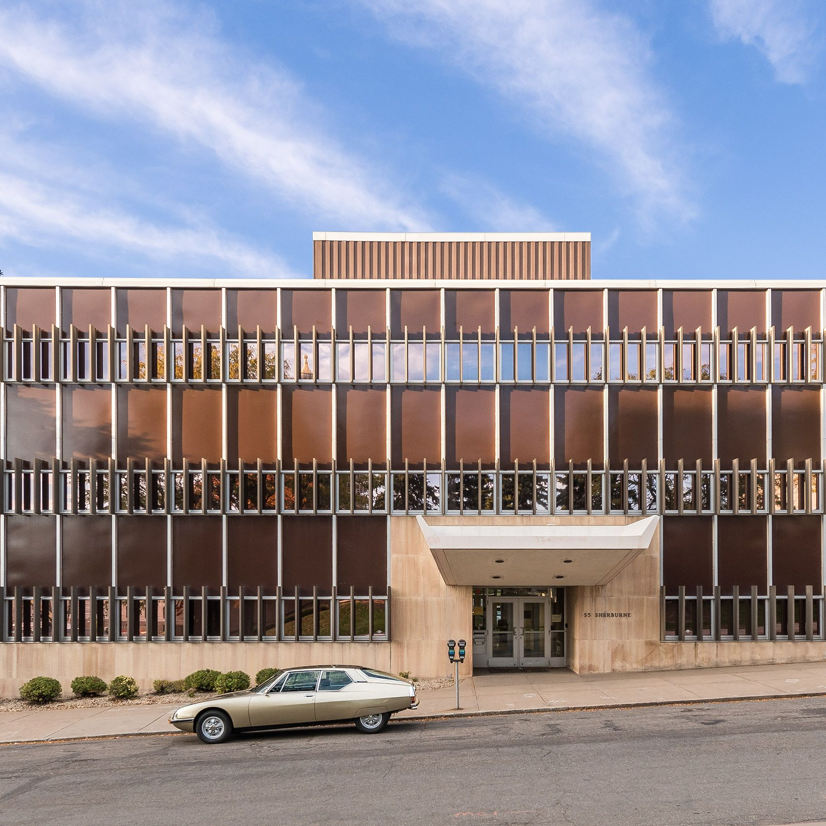 1973 CITROEN SM | MINNESOTA EDUCATIONAL ASSOCIATION HEADQUARTERS BUILDING | ST PAUL | HAARSTICK, LUNDGREN & ASSOCIATES | 1954