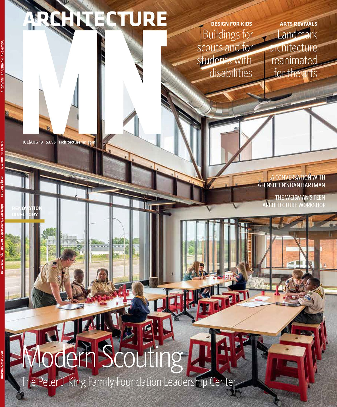 ARCHITECTURE MN MAGAZINE JULY/AUG  2019