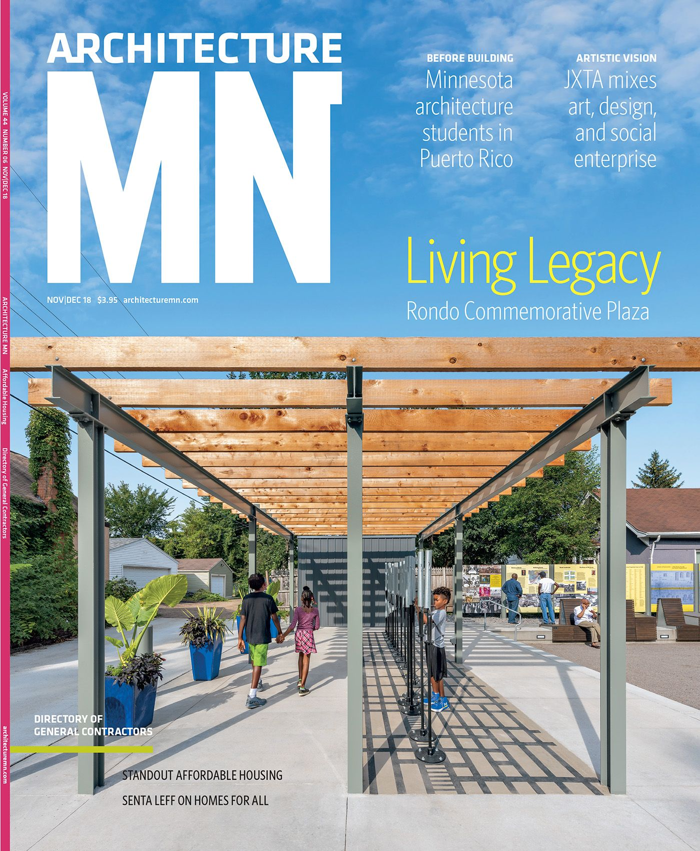 ARCHITECTURE MN MAGAZINE NOV/DEC 2018