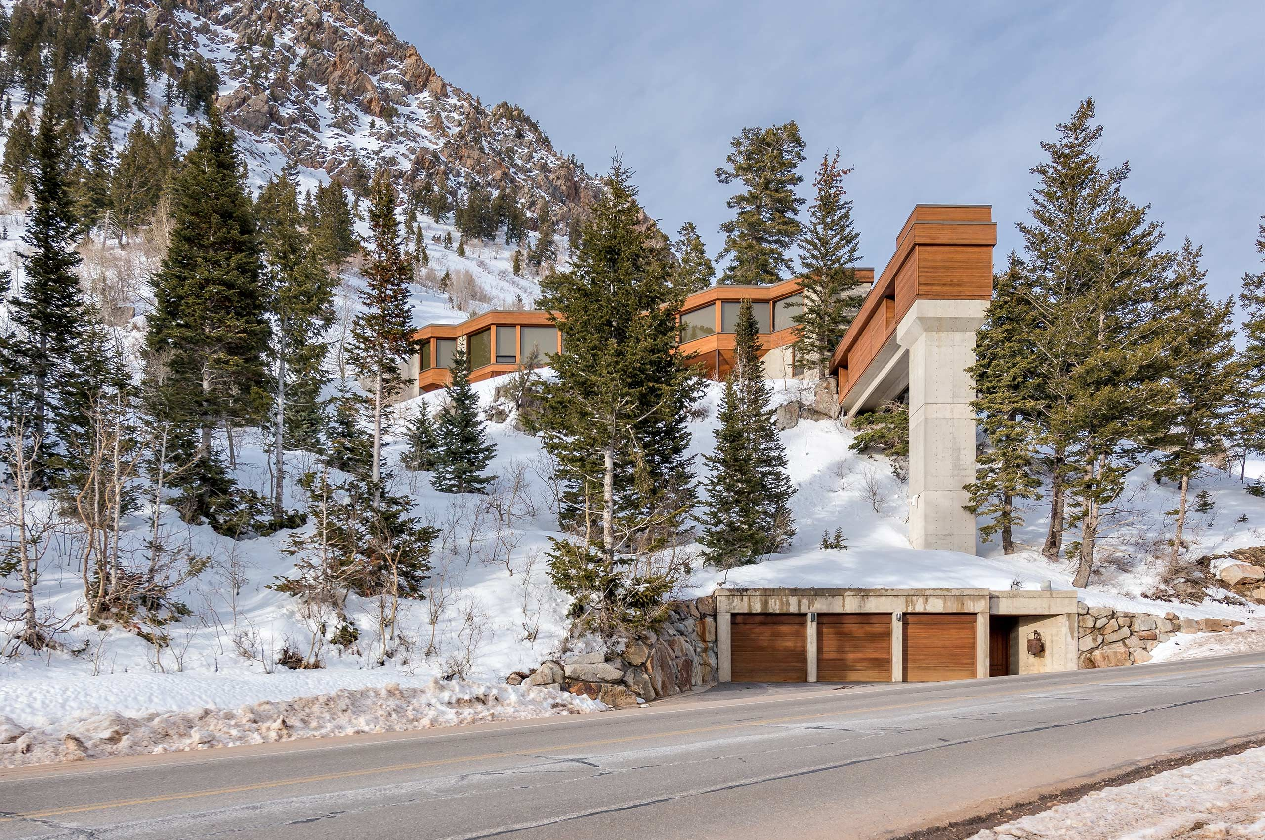 TED AND WILMA JOHNSON RESIDENCE AT SNOWBIRD, UTAH