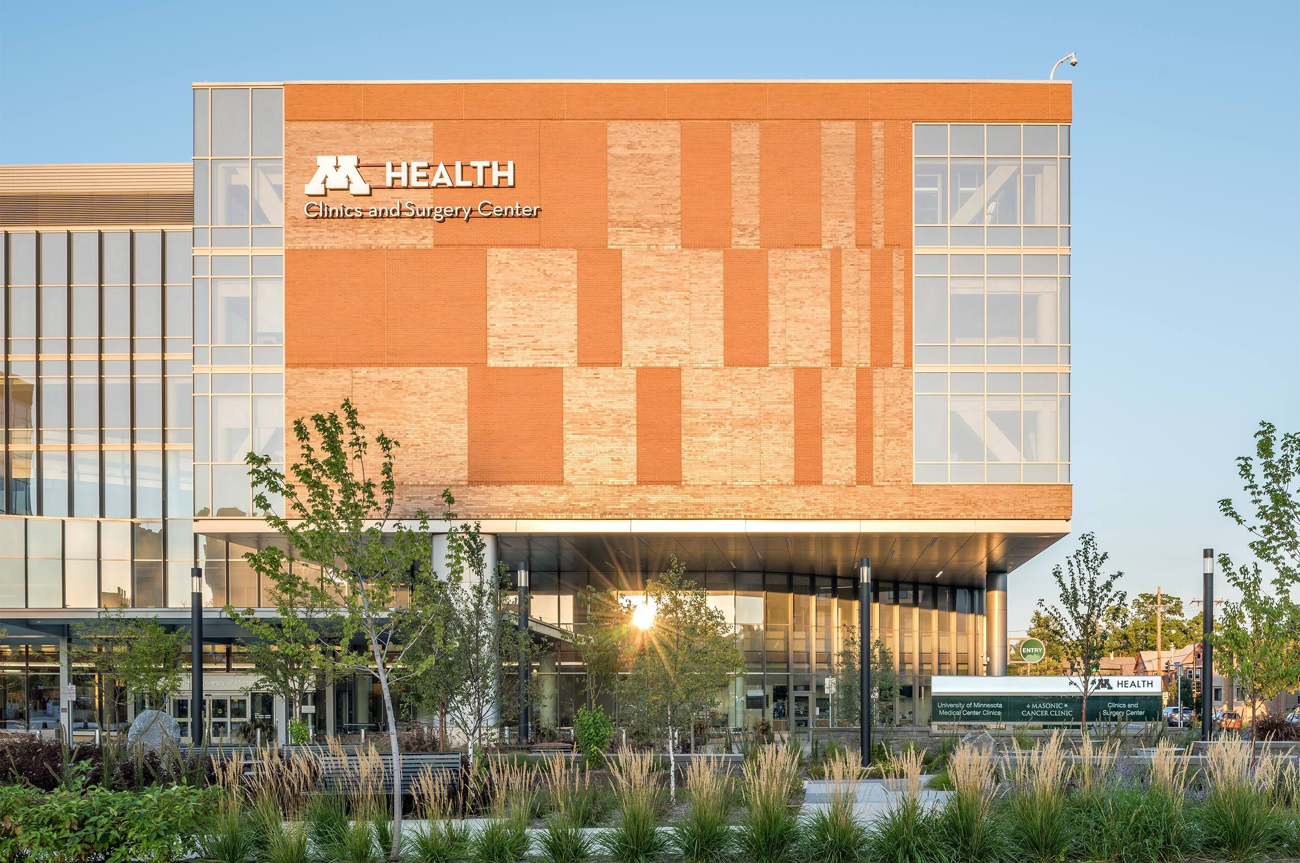 UNIVERSITY OF MINNESOTA HEALTH CLINICS AND SURGERY CENTER