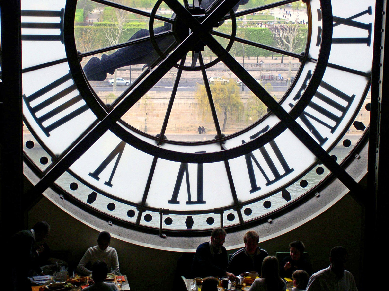 Behind the Clock at the Musee D'Orsay