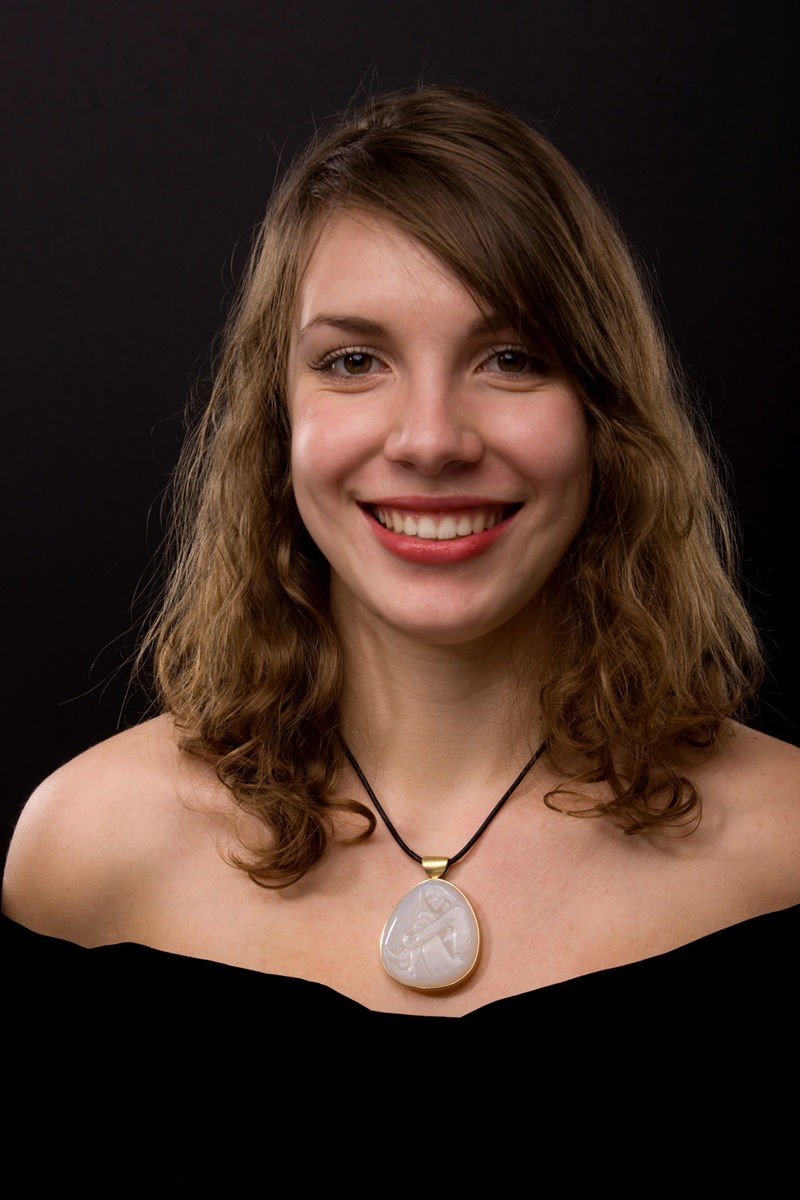 Brazilian Opal Pendant worn by Anabelle Rosier