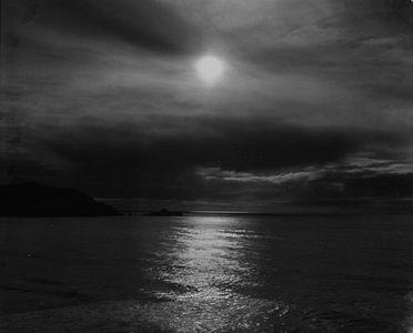 Late Sun On Ocean Near Point Pedro, California
